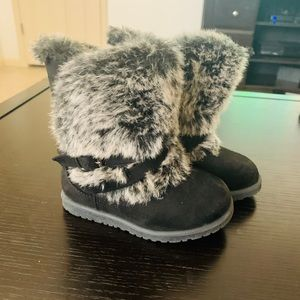 Toddler girl 8 winter boots